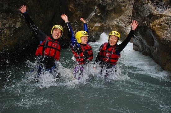 Swiss Alps Beginner Canyoning...