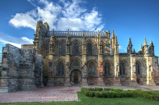 Rosslyn Chapel, de Scottish Borders en Glenkinchie Distillery Tour ...