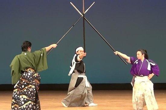 Espectáculo de samuráis en Kioto