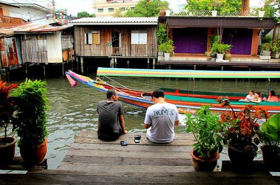 Recorrido por el canal de Bangkok en...