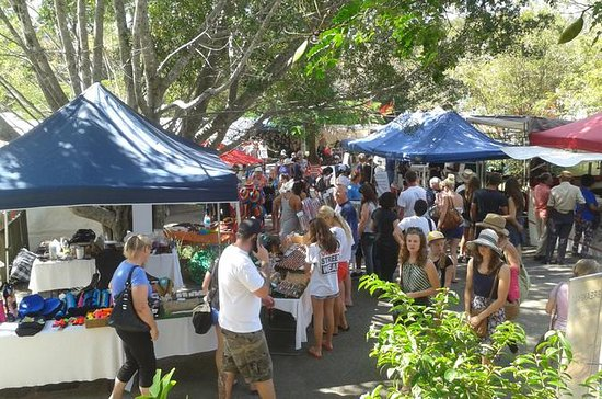 Eumundi Markets and Sunshine Coast...
