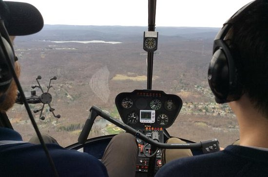 Helicopter Flight Lesson Above New...