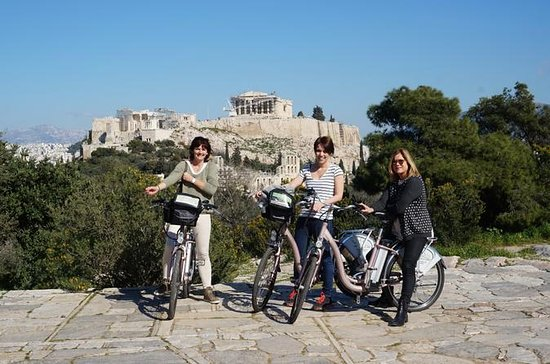 Athens E-Bike Small-Group Tour with Acropolis, Hadrian's Arch