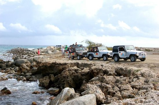 Aruba 4x4 Tour: Natural Bridge...