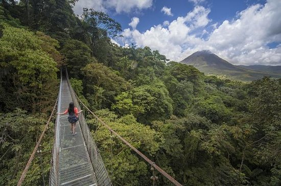 Arenal Hanging Bridges Vandringstur
