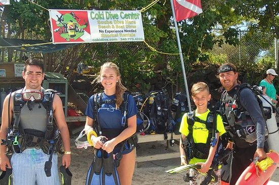 St Thomas Discover Scuba Diving
