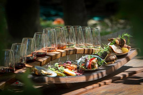 Wine and Food Sampler Tour from...