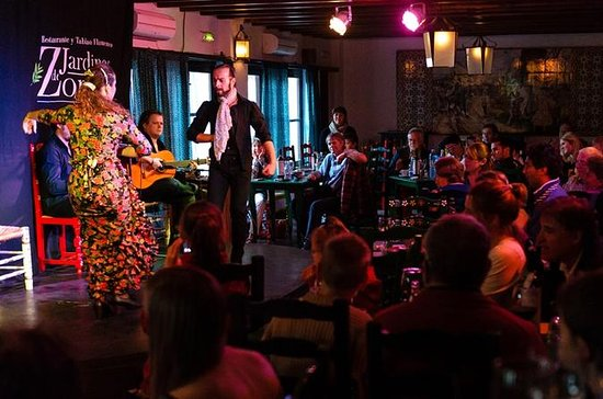 Flamenco Show at Jardines de Zoraya...
