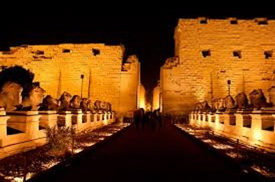 Karnak Temple Sound and Light Show...