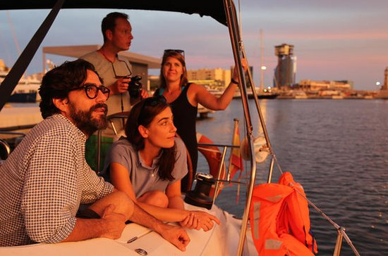 Barcelona 2-Hour Sunset Sailing Tour...