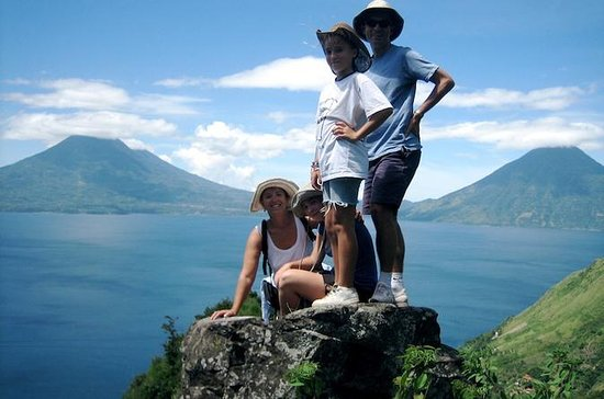 Lake Atitlan Lower Mayan Trail Hiking...