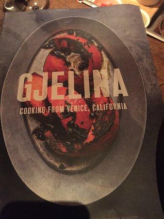 Gjelina: Cook book