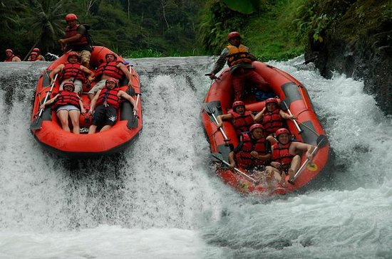 White Water Rafting at Telaga Waja...