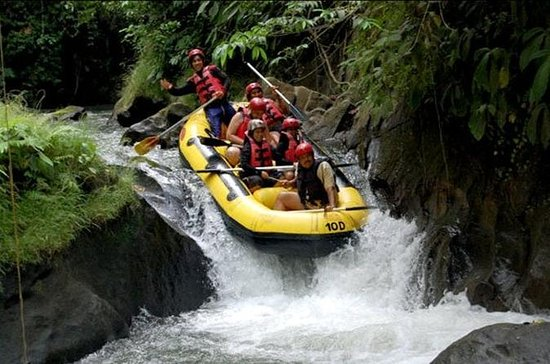 White Water Rafting at Ayung River