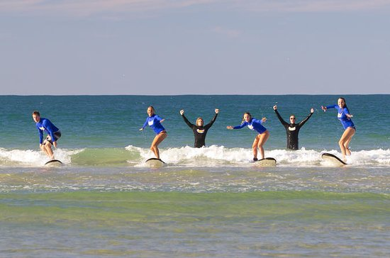 Learn to Surf at Noosa on the...