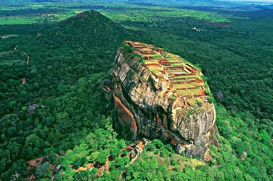 Sigiriya Rock Fortress and Cave...