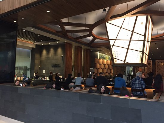 Eating Area Picture Of Din Tai Fung Westfield Santa