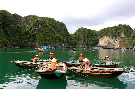 Private Halong-Bucht-Bootstour zur...