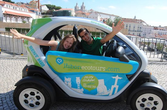 Lisbon Old Town and Downtown Tour in an Electric Car with GPS Audio...
