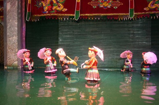 Water Puppet Show and Old Quarter Walking Tour of Hanoi