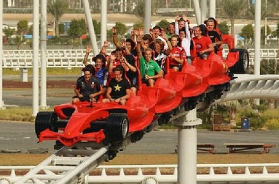 Full-Day Trip to Ferrari World and Yas...