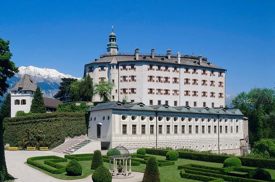 Ambras Castle in Innsbruck Entrance...