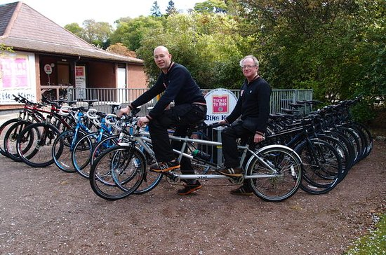 Independent Loch Ness Cycle Tour from...