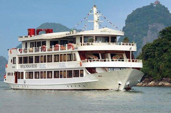 Royal Wings 2-Day Halong Bay Cruise