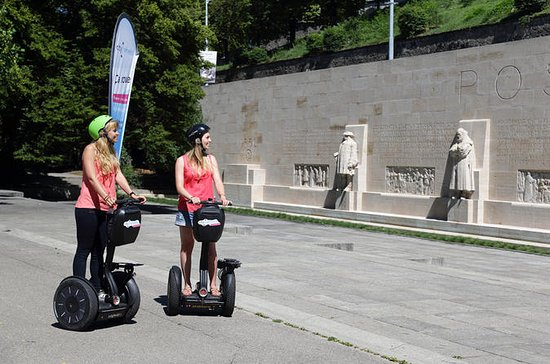 Geneva Old Town Sightseeing 1.5-Hour Segway Tour with Guide