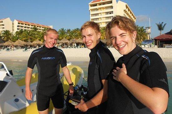 Aruba certifié plongée sous-marine