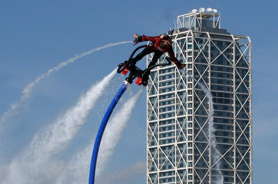 Barcelona Flyboard Experience at...