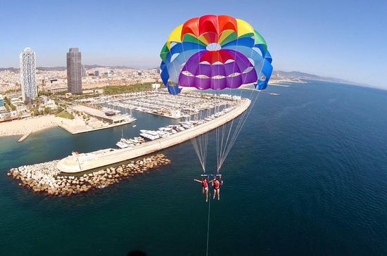 Parasailing Experience in Barcelona