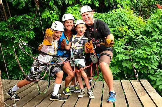 Zipline Tour in Jaco