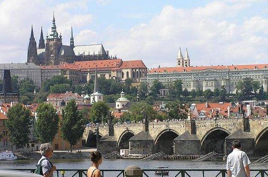 Visite pédestre du château de Prague...