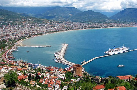 Tour panoramico di Alanya da Side con