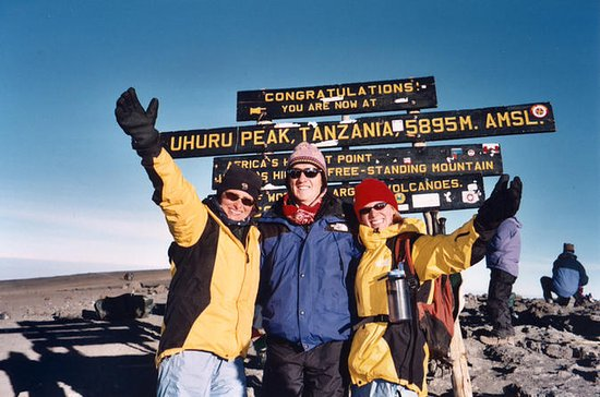 6-Day Kilimanjaro trekking Machame or...