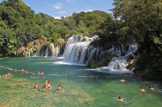 Krka Waterfalls and Sibenik Tour from...