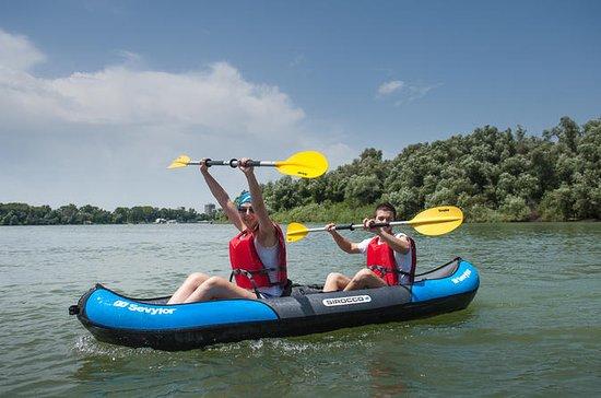 Visite en Kayak de l'île de la guerre...