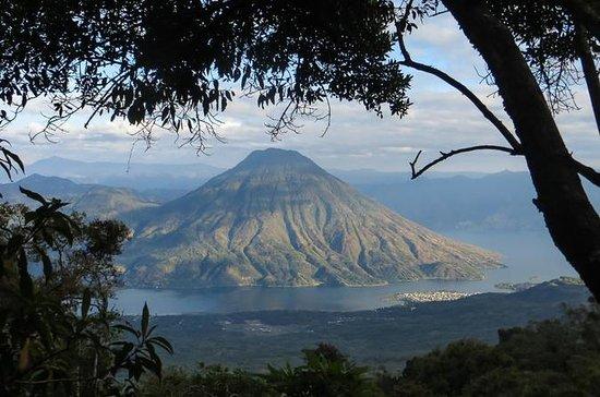 Hiking to Volcano San Pedro on Lake...