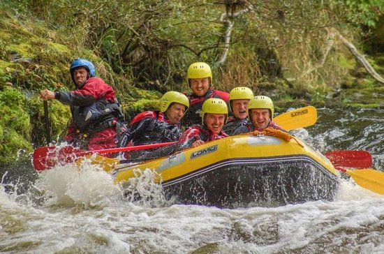 Rafting in acque bianche a Llangollen