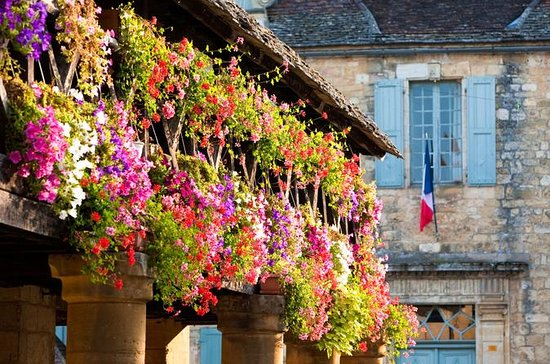 Halvdagstur på landsbyene i Dordogne
