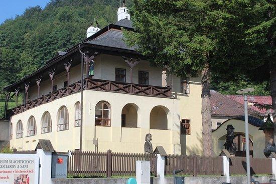 Oravsky Podzamok, Slowakije: L'edificio