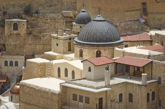 Desert Jeep Tour from Jerusalem: Mar Saba Monastery and Wadi Qelt