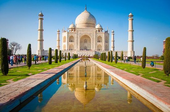 Agra Day Trip: Taj Mahal by Taj Express...