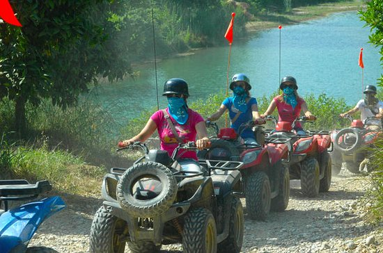 Quad Safari from Alanya at the Taurus...