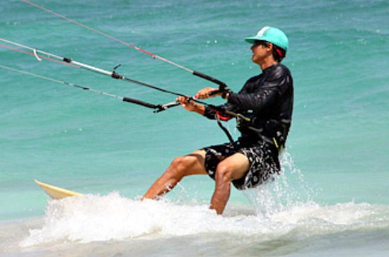 Group Kiteboarding Lesson in Tulum