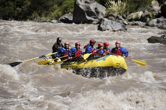 Maipo River Rafting von Santiago