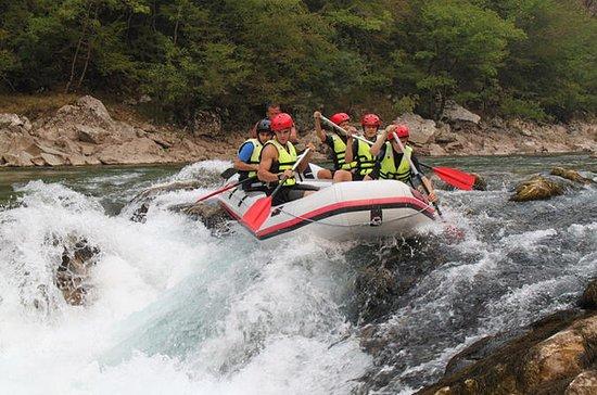 Rafting på Neretva-floden