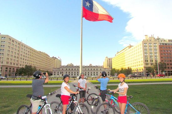 Santiago Center Cultural Bike Tour