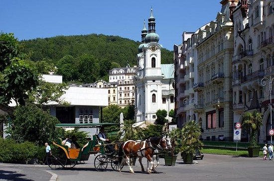 Tour privato: Karlovy Vary e castello